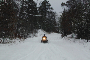 Winter Recreation on the Iron Snowshoe Trails