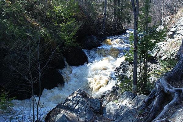 Long Slide Falls